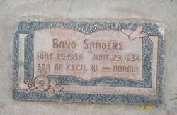 Boyd Sanders