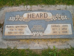 Muriel Whitaker Heard