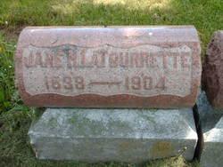 Sarah Jane <I>Horner</I> Latourrette