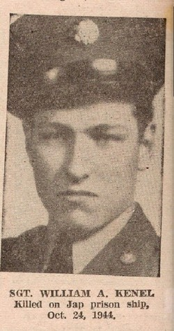 Sgt William A Kenel