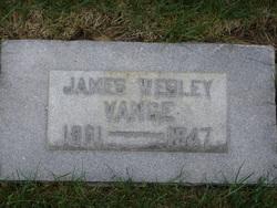 James Wesley Vance