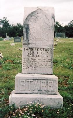 Fannie C. <I>Griffin</I> Starr