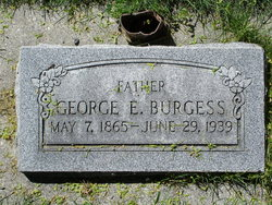 George Edward Burgess