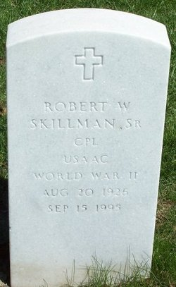 Robert W Skillman, Sr