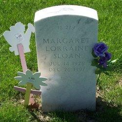 "Margaret Lorraine ""Lorraine"" <I>Mains</I> Sloan"