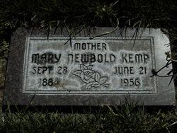 Mary Elizabeth <I>Newbold</I> Kemp
