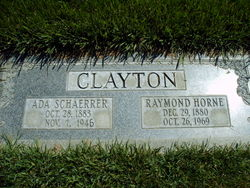 Ada <I>Schaerrer</I> Clayton