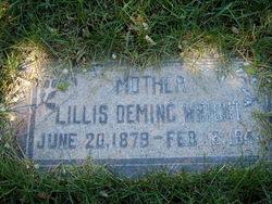 Lillis Deming Wright