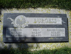 Marjorie <I>Killpack</I> Burgess