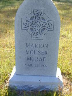 Marion <I>Mouser</I> McRae