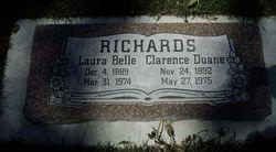 Laura Belle <I>Bringhurst</I> Richards