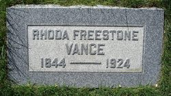Rhoda <I>Freestone</I> Vance