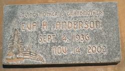 Eva <I>Hafen</I> Anderson