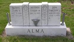 Timothy Joe Alma