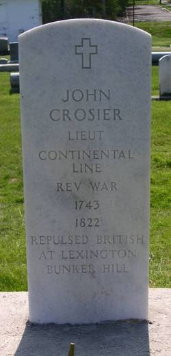 Lieut John Crosier