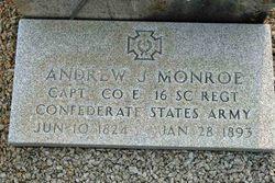 Capt Andrew J. Monroe