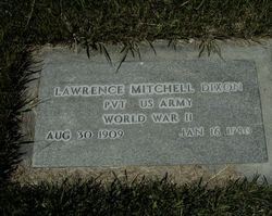 Lawrence Mitchell Dixon