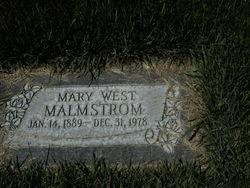 Mary Marie <I>West</I> Malmstrom