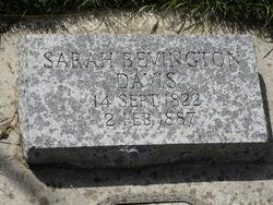 Sarah <I>Bevington</I> Davis