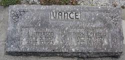 Mary Frances <I> Ferrell</I> Vance