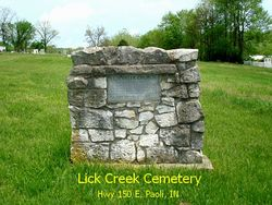 Lick Creek Friends Cemetery