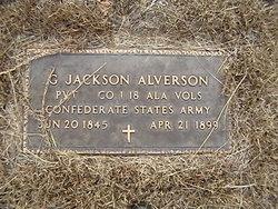 Gen Andrew Jackson Alverson