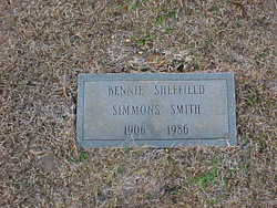 Bennie Sheffield <I>Simmons</I> Smith