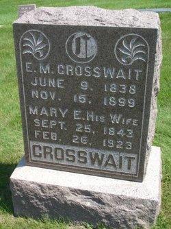 Mary Elizabeth <I>Shawver</I> Crosswait