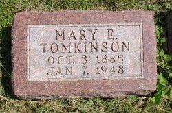 Mary E Tomkinson