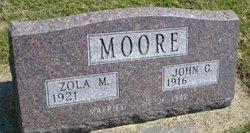 Zola M Moore