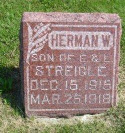 Herman W Streigle