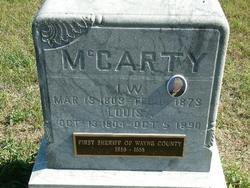 Louisa <I>Wyeth</I> McCarty