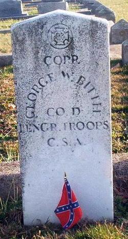 Corp George W. Bittel