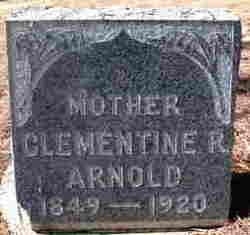Clementine Rebecca <I>Cornforth</I> Arnold