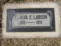 LaVeta E. Larson