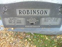 Marilyn Jean Robinson