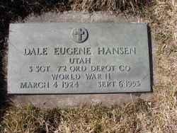 Sgt Dale Eugene Hansen