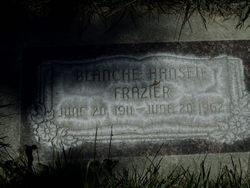 Blanche Patricia <I>Hansen</I> Frazier