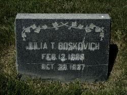Julia <I>Toth</I> Boskovich