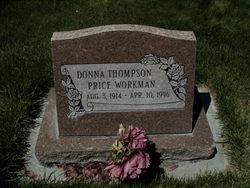 Donna <I>Thompson</I> Workman