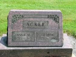 Anna Margaret <I>Fink</I> Acker