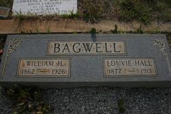 Louvie Alice <I>Hall</I> Bagwell