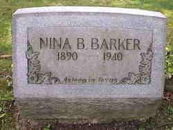 Nina B <I>Hann</I> Barker