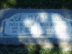 Rose Rebecca Charlotte <I>Andersen</I> Hyke