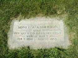 Sidney Alfred Anderson