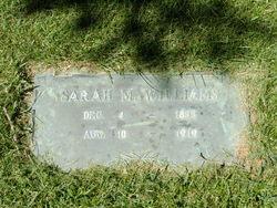 Sarah Melvina <I>Adams</I> Williams