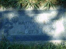 Martha Jane <I>Smith</I> Thornton