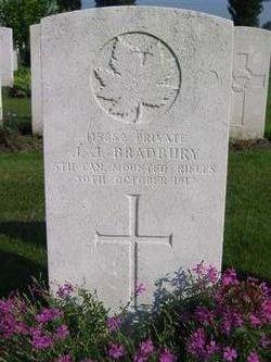 Private J J Bradbury