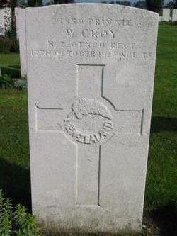 Private William Croy