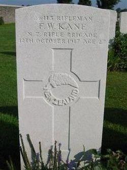 Rifleman Francis William Kane